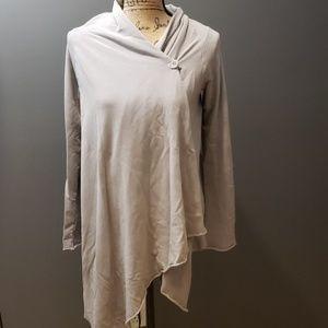 Splendid cardigan hi low asymmetrical size m/l